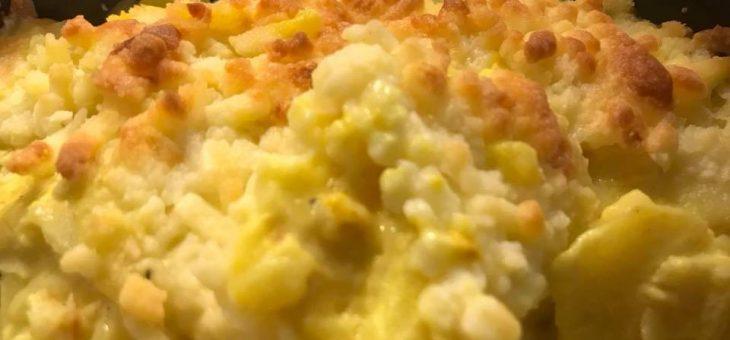 Saftig potatisgratäng